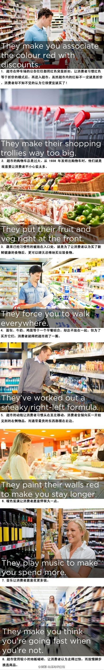 超市经营者如何控制消费者心智