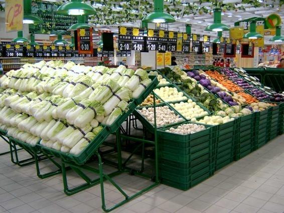 超市卖场蔬果陈列与管理注意事项